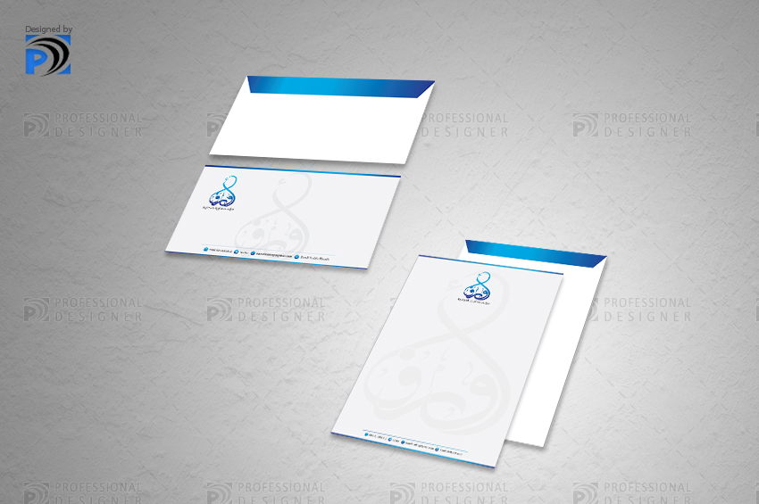 envelop design for trading companies