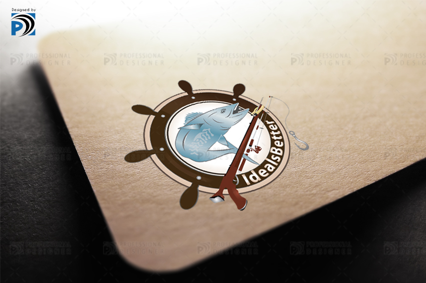 Logo Design Fishing Equipment