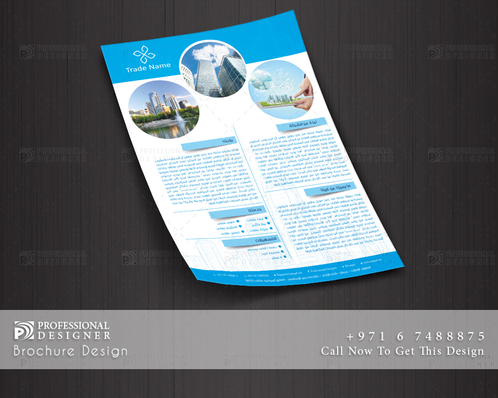 Ready - print flyer for real estate companies