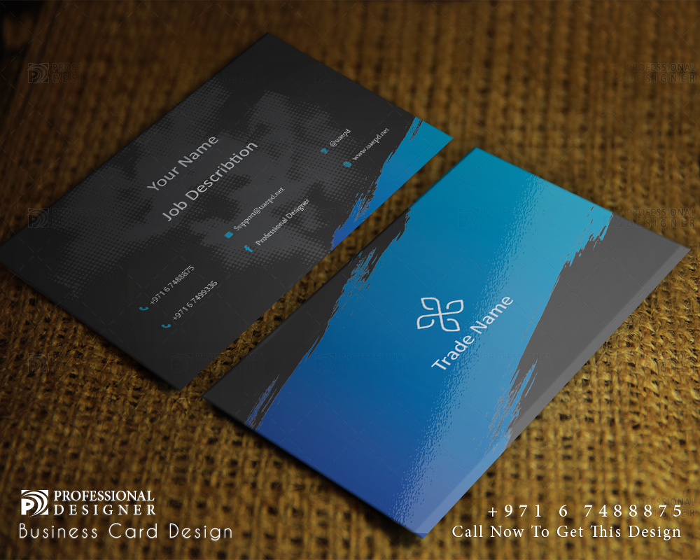 Gym Business Card Design