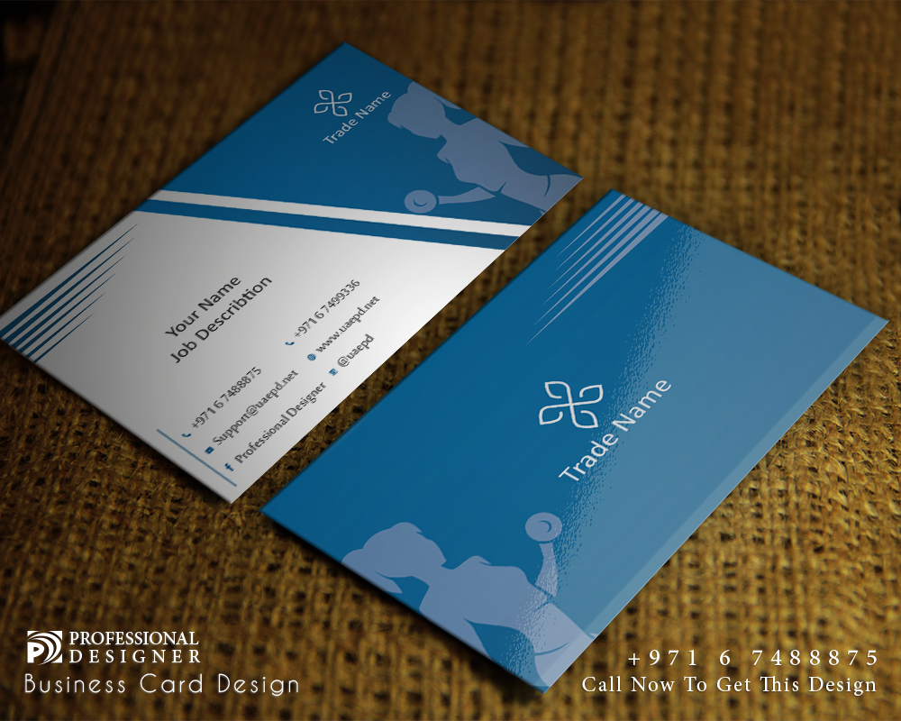 Businesses card for women gym businesses card for sport center magicingreecefo Choice Image