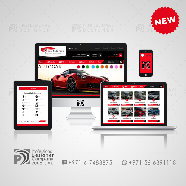 Car Selling Websites >> Web Design Templates Cars Auto Trade