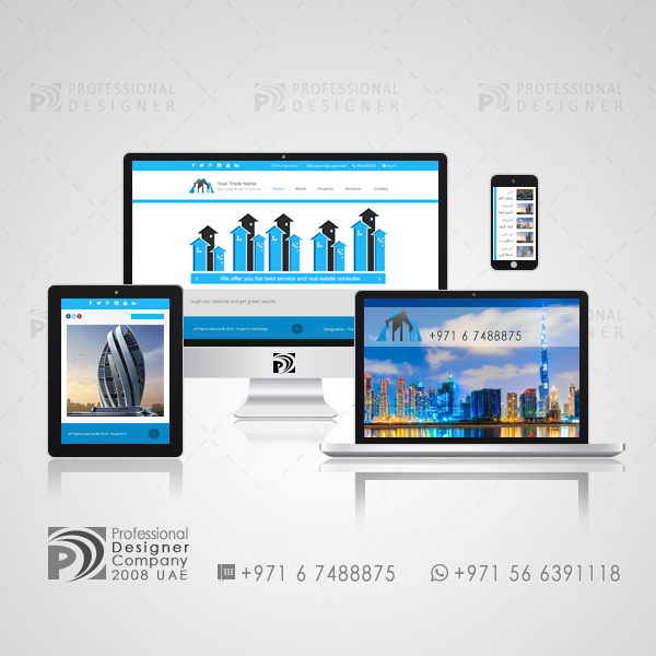 Responsive Real Estate Websites - Create a Real Estate Website - Best Website for Real Estate
